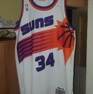 Mitchell ness Barkley authentic jersey sz 44 large